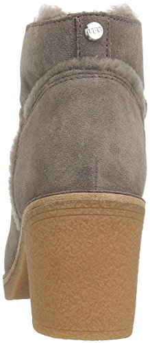 In Ankle Heeled Leather Mouse Boot Ugg Kasen Women's Chestnut Suede Women's IwOU0X1