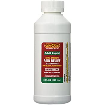 acetaminophen adult liquid strength