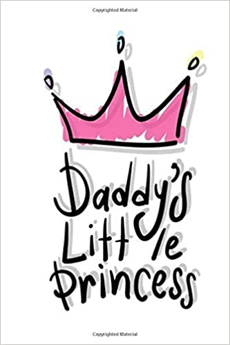 Cute LITTLE PRINCESS Fathers Day Card Pink Daddy Dad