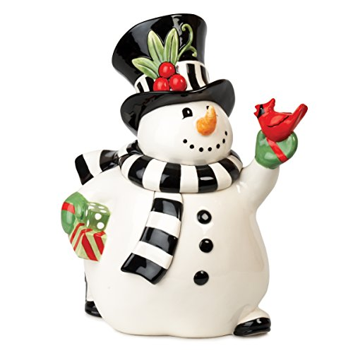 Frosty's Frolic Snowman Collection, Cookie Jar