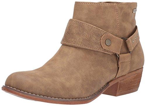 7ea65dbb84cc Roxy Women's Fernanda Western Bootie Ankle, tan, 9 M US