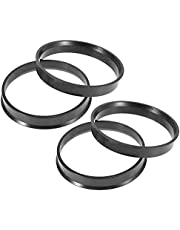 X AUTOHAUX 4pcs Plastic 60.1mm to 64.1mm Car Hub Centric Rings Wheel Bore Center Spacer