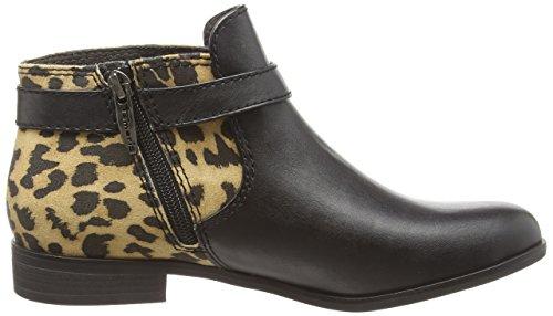 Tamaris 25083 - botas de material sintético mujer multicolor - Mehrfarbig (Black/Leopard 088)