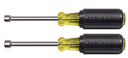 Klein Tools 2 Piece Magnetic Tip Nut Driver Set - 6.8 Length