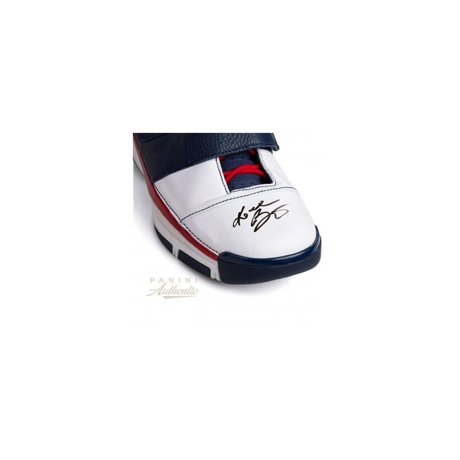Kobe Bryant Autographed Signed Nike Zoom Kobe 2 St Strength Usa Shoe Upper Deck Authentic