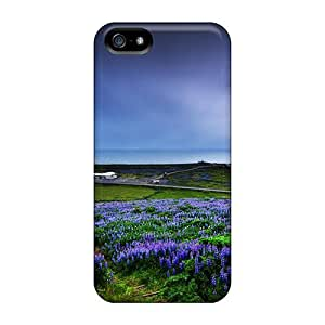 Fashion Tpu Case For Iphone 5/5s- Icelic Purple Defender Case Cover