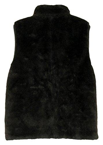 J Crew Plush Fleece Excursion Vest Size XXS Style E1535 Black by J.Crew (Image #1)