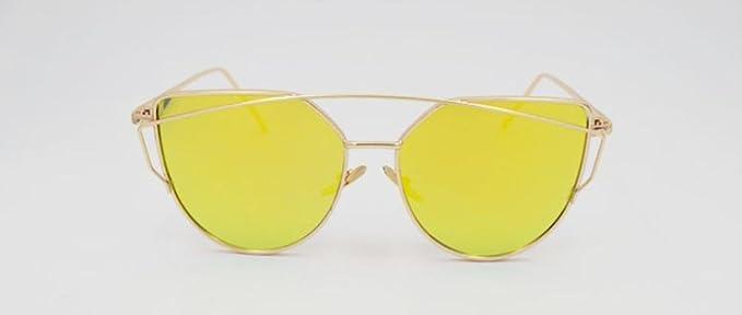 MNII gafas de sol hombres y mujeres de color película ...