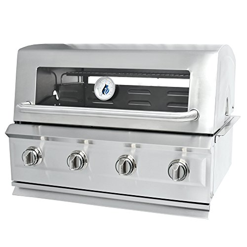 - 3 Embers Drop-In 4 Burner Gas Grill