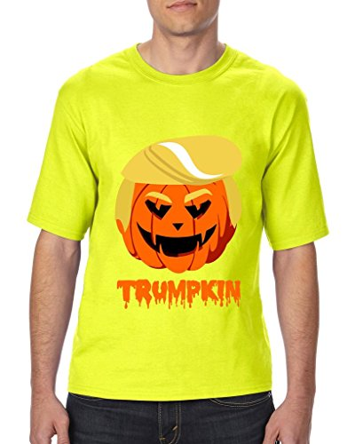 [Artix Trumpkin Donald Trump Halloween Costume Fashion People Best Friend Gifts Unisex T-Shirt Tall Sizes X-Large Tall Safety] (Costumes For Tall People)