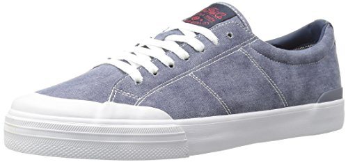 C1RCA Men's Fremont Skateboarding Shoe, Navy/Red/White, 5 M (C1rca Footwear Sneakers)