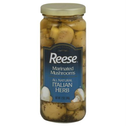 Reese Herb Italian Marinated Mushroom, 12 Ounce - 6 per case.