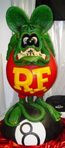 Rat Fink life size figure -