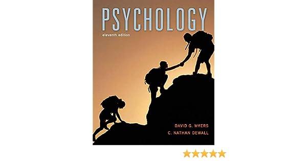 Psychology David G Phd Myers C Nathan Dewall 9781464140815