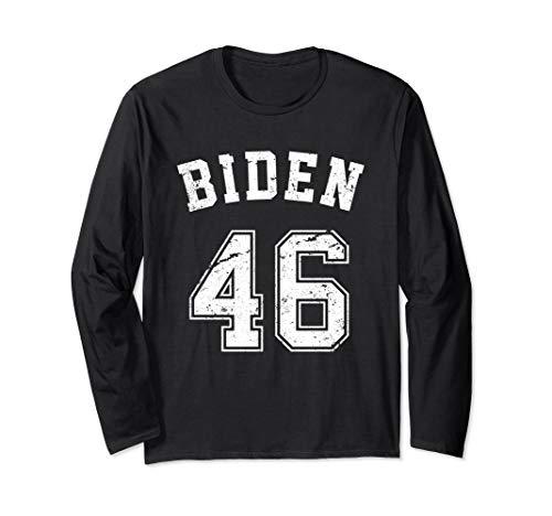 (Team Biden 46 - Joe Biden 2020 Long Sleeve T-Shirt )