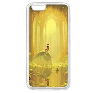 Diy White Soft pc(Hard shell) Disney Cartoon Princess And The Frog For Ipod Touch 5 Case Cover Case, Only fit For Ipod Touch 5 Case Cover