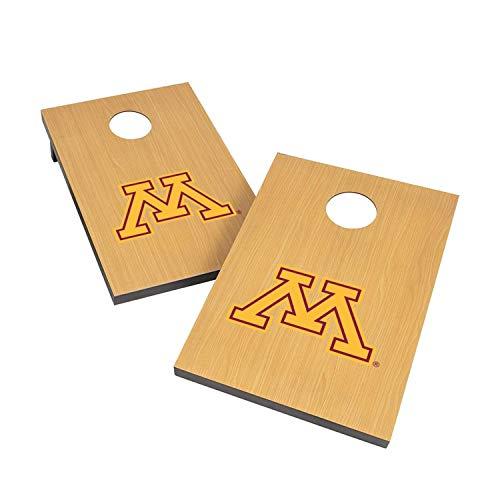 Victory Tailgate NCAA 2x3 Travel Cornhole Set - 2 Boards, 8 Bags - Minnesota Golden Gophers