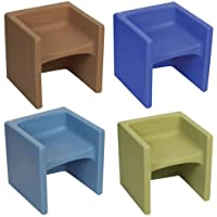 Cube Chairs - Soft Colors (Set of 4)