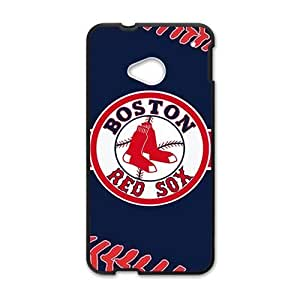 DAZHAHUI boston red sox Phone Case for HTC One M7