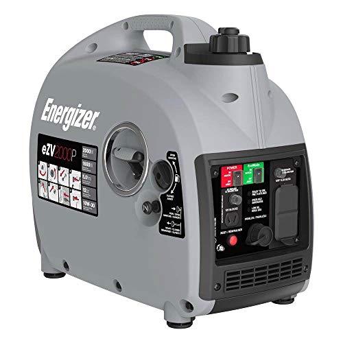 Energizer eZV3200P Quiet 3200-Watt Portable Inverter Generator with Remote Start,Parallel, CARB