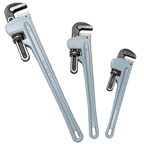 - Aluminium Pipe Wrench 14