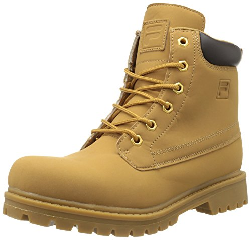 Fila Mens Boots - Fila Men's Edgewater 12 Hiking Boot,Wheat/Gum,12 M US