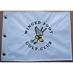Winged Foot Golf Club Embroidered Golf Pin Flag US Open Course