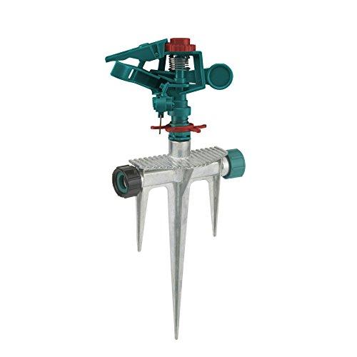 Gilmour 832003-1001 200GMSM Metal Base Triple Spike Sprinkler