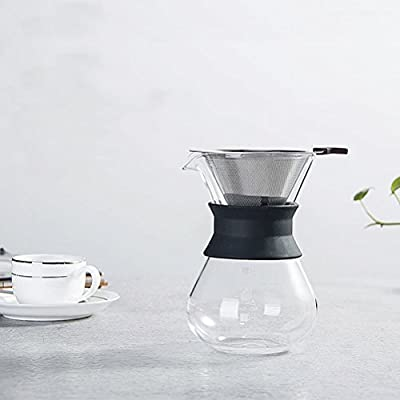 Vicloon Filtro de Café Permanente con Botella de Limpieza Cepillos ...