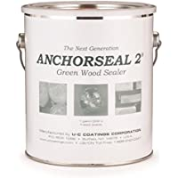 Classic Anchorseal Green Wood Sealer 1 Gallon by Anchorseal