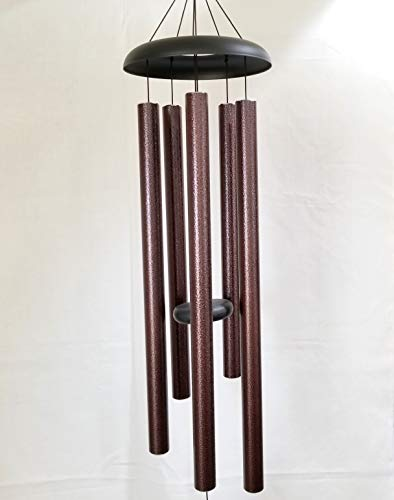 LARGE 44″ WIND CHIME LARGE WIND CHIME BROWN