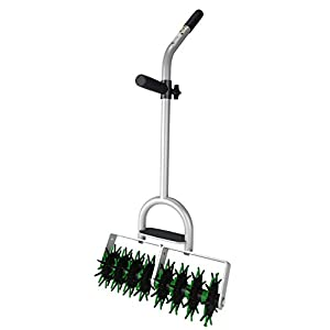 Seed Stitcher PRO DOUBLE - Head- Easy Lawn Grass Garden Seed Planting Tool for Landscapers, Homeowners