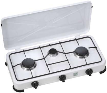 Hornillo de gas con 3 Llamas para el exterior Cocina de gas ...