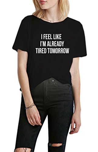 DANVOUY Womens Summer Short Sleeve Graphic Casual Teen Girl Tops Tee T-Shirt