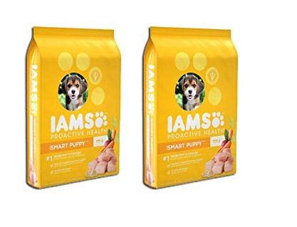 PACK OF 2 – IAMS PROACTIVE HEALTH Smart Puppy Dry Puppy Food 15 Pounds
