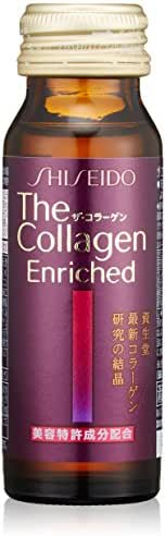 Shiseido The collagen Enriched <drink> V (50mL ~ 3 pieces)