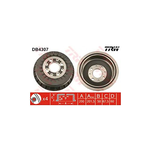 TRW DB4307 Brake Drums: