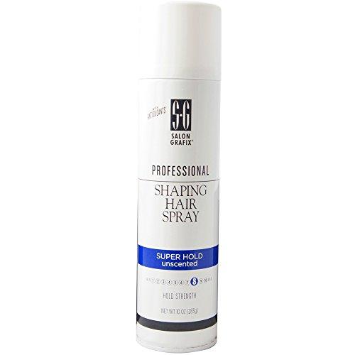 Shaping Spray (Salon Grafix Salon Grafix Unscented Shaping Hair Spray, 10 oz (Pack of 2))
