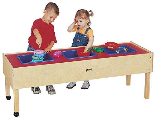 Jonti-Craft 0886JC Toddler 3 Tub Sensory Table