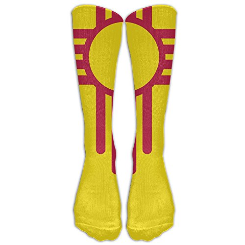 New Mexico Flag Stockings Long Tube Socks, Great Quality Classics Knee High Socks Sports Socks For Women - Street Mexico High