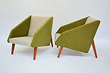 Par de sillones Estilo años 50 producción Italia Colores ...