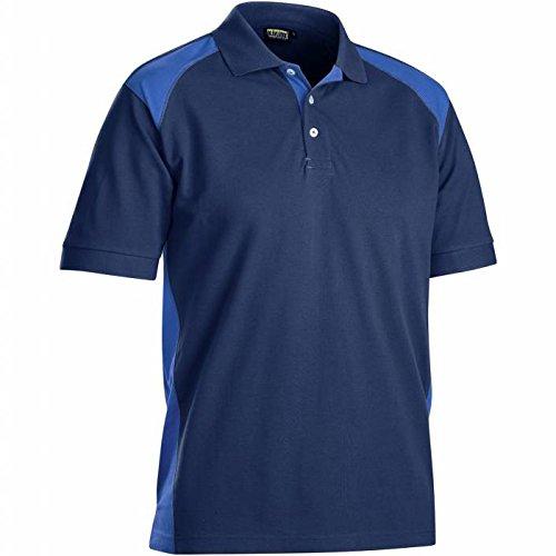 Navy//Corn Blue Blakl/äder 332410508985L Polo-Shirt Size L cornblue L