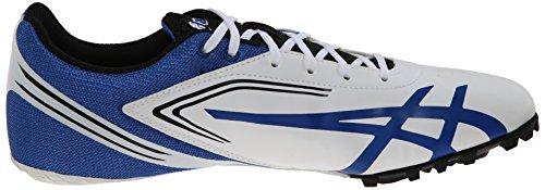 ASICS-Mens-Hypersprint-5-Running-ShoeWhiteBlackBlue8-M-US