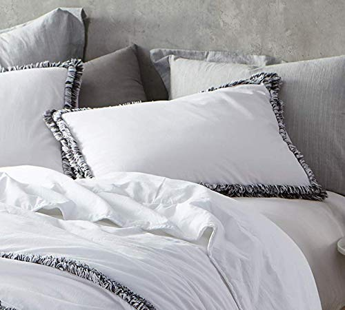 (Byourbed Boa Noite - 200TC Washed Percale Standard Sham)