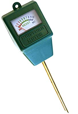 Indoor/outdoor Moisture Sensor Meter with Full Color Instruction Card, Soil Water Monitor, Plant Care, Garden,lawn