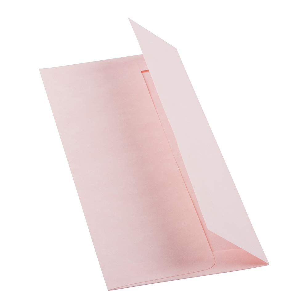 - Pink Ice Recycled JAM PAPER A6 Parchment Invitation Envelopes 120.7 x 165.1 mm 4 3//4 x 6 1//2 50//Pack