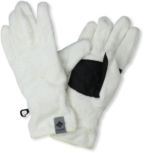 Columbia Women's Pearl Plush II Glove Sea Salt Large