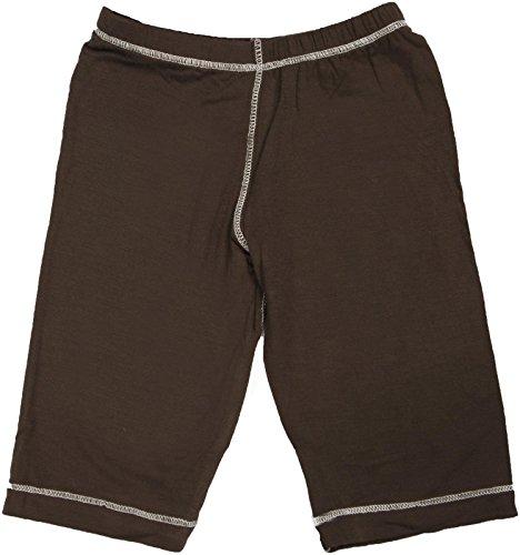 KicKee Pants Unisex Child Basic Pants - Bark - 3T