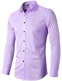 Image result for mens purple dress shirt