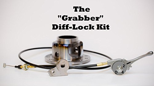 501Parts Grabber Full-Traction Differential Lock Conversion Kit - Fits Yamaha Kodiak 700 All Years - Differential Carrier Mounting